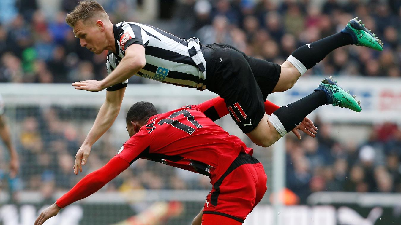 Newcastle United 1-0 Huddersfield Town