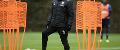 Darren Moore, West Brom training