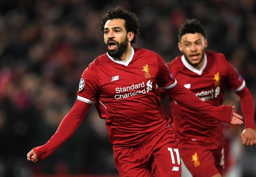 Mohamed Salah, Liverpool v Man City, UEFA Champions League