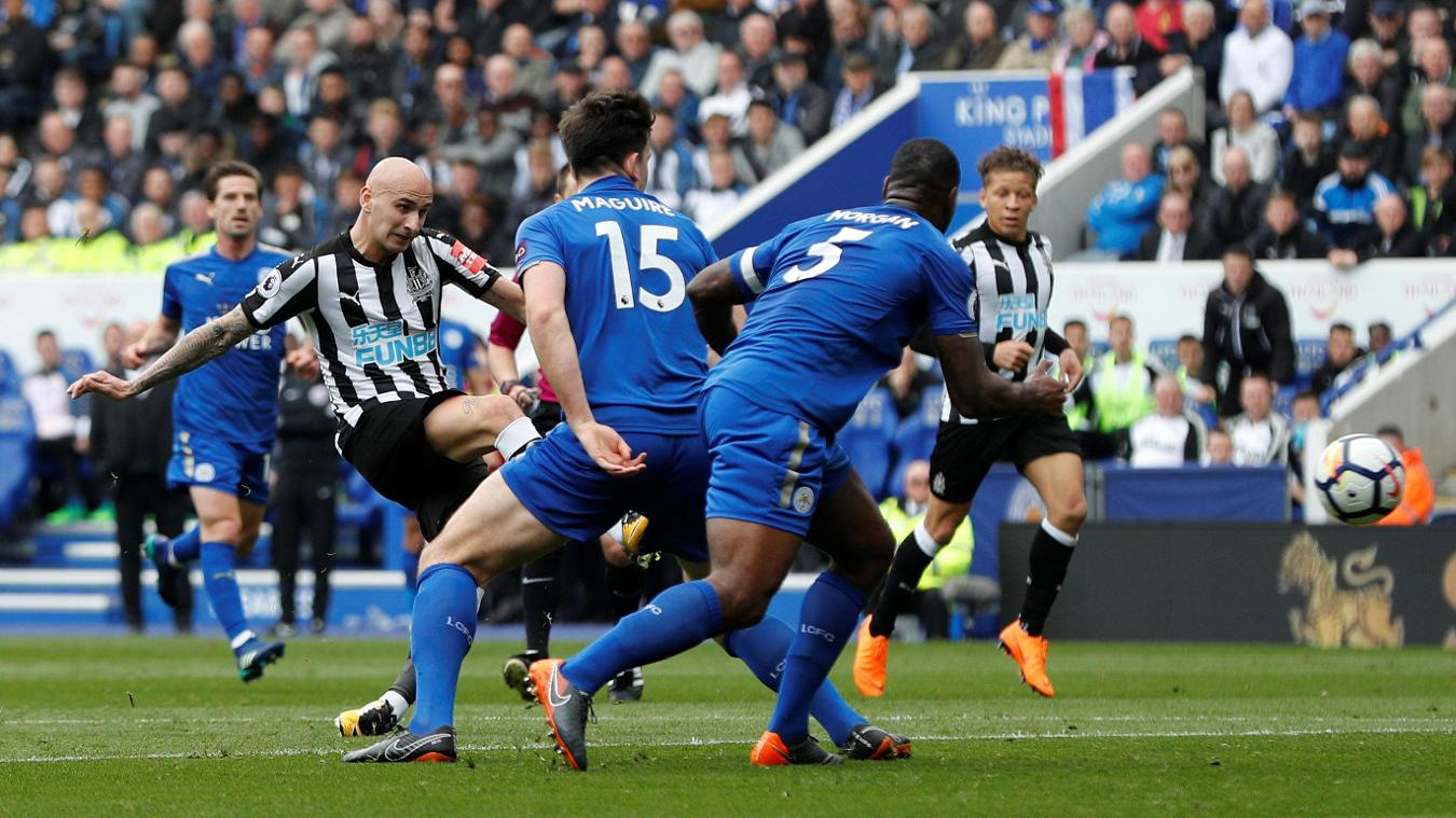 Leicester City 1-2 Newcastle United