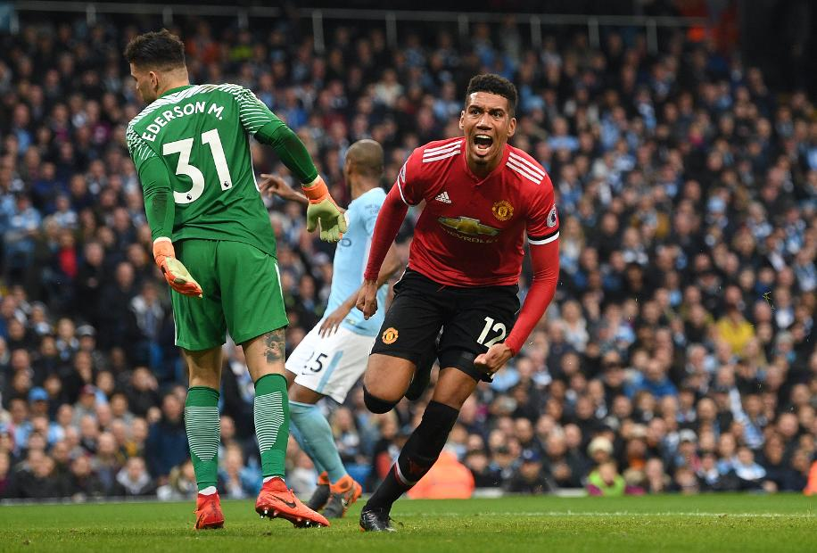 We didn't want to be clowns at City's party, says Chris Smalling