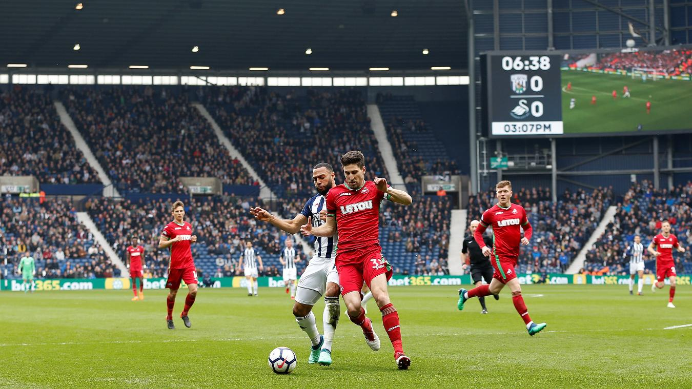 West Bromwich Albion 1-1 Swansea City