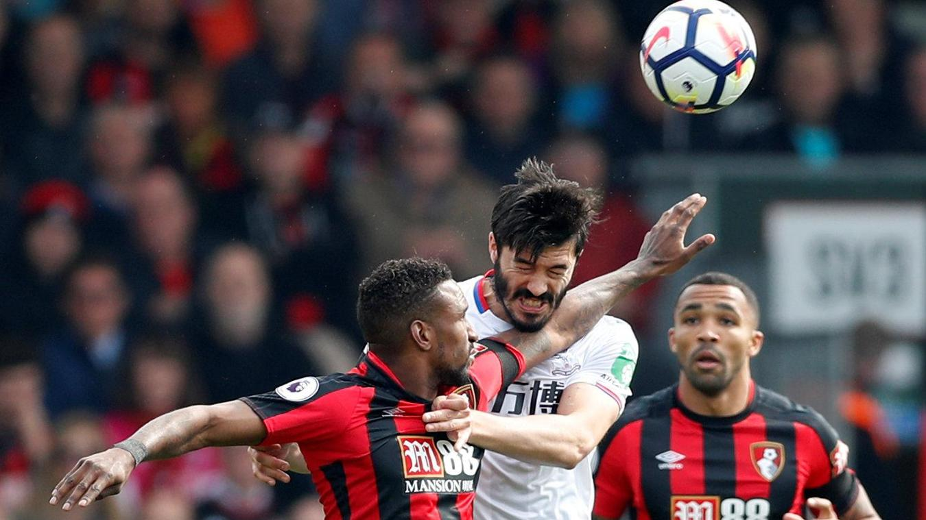 AFC Bournemouth 2-2 Crystal Palace