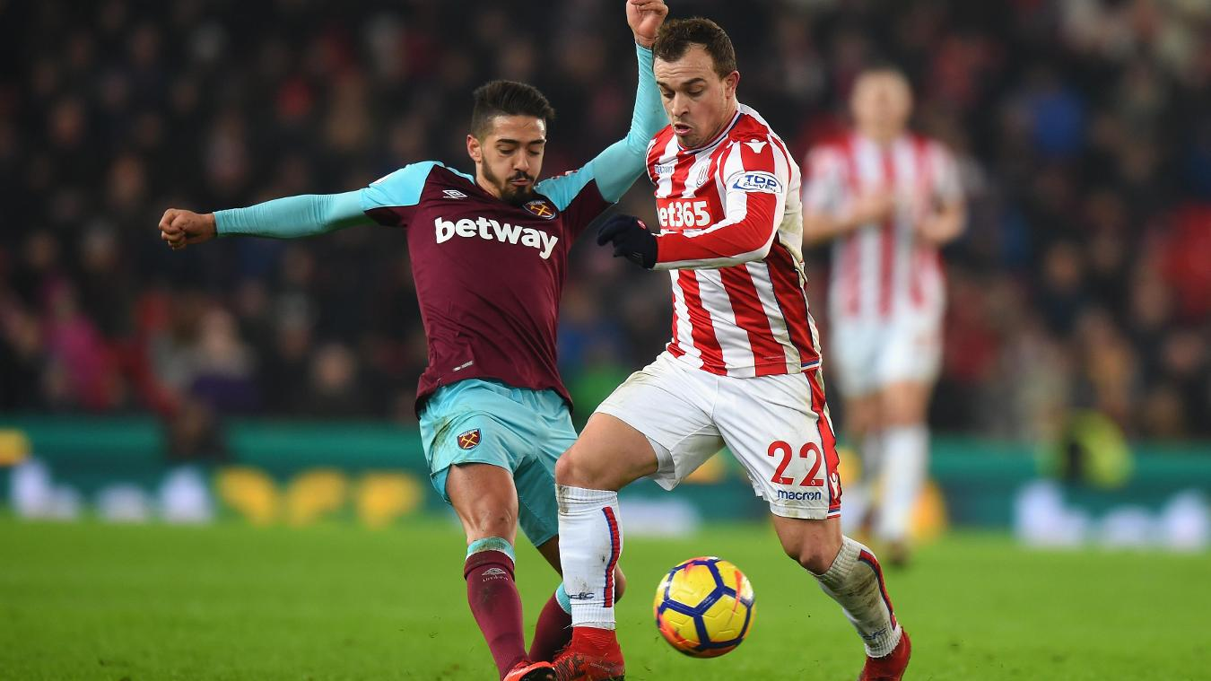 West Ham United v Stoke City, 16 April