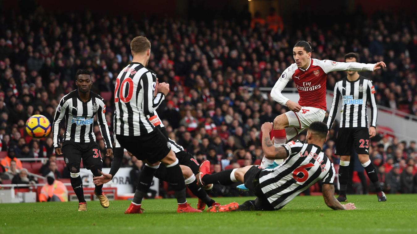 Newcastle United v Arsenal, 15 April