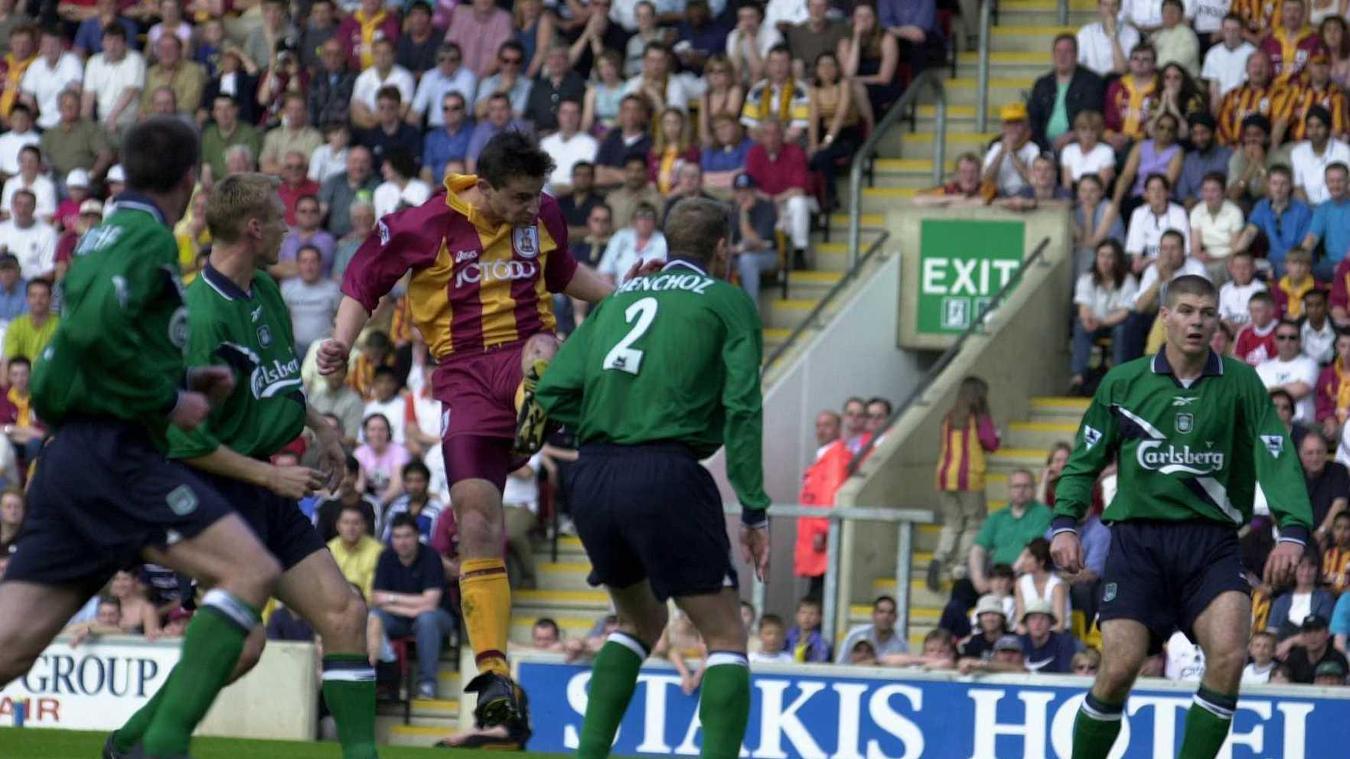 David Wetherall, Bradford in 1999/00