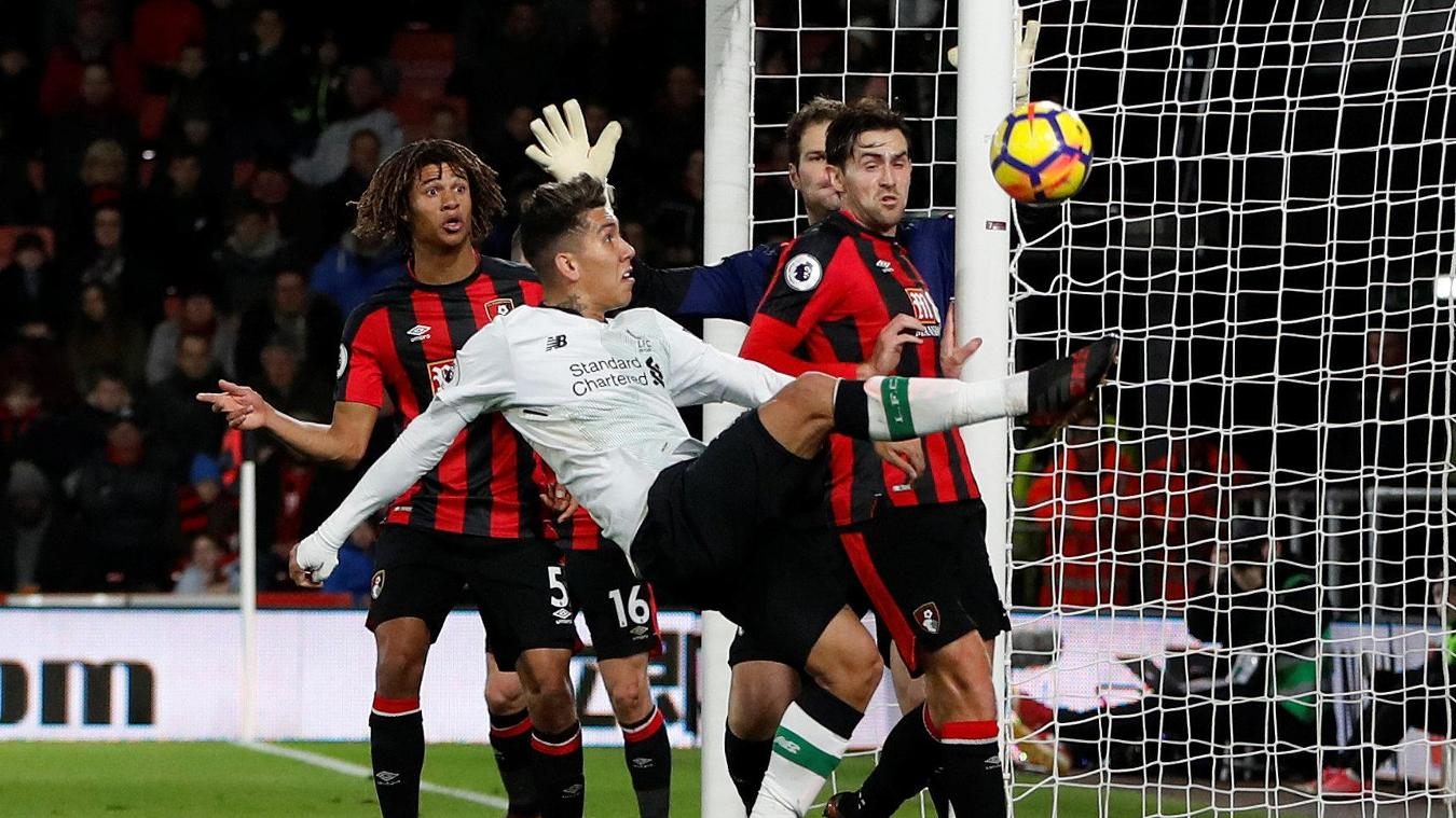 Liverpool v AFC Bournemouth, 14 April