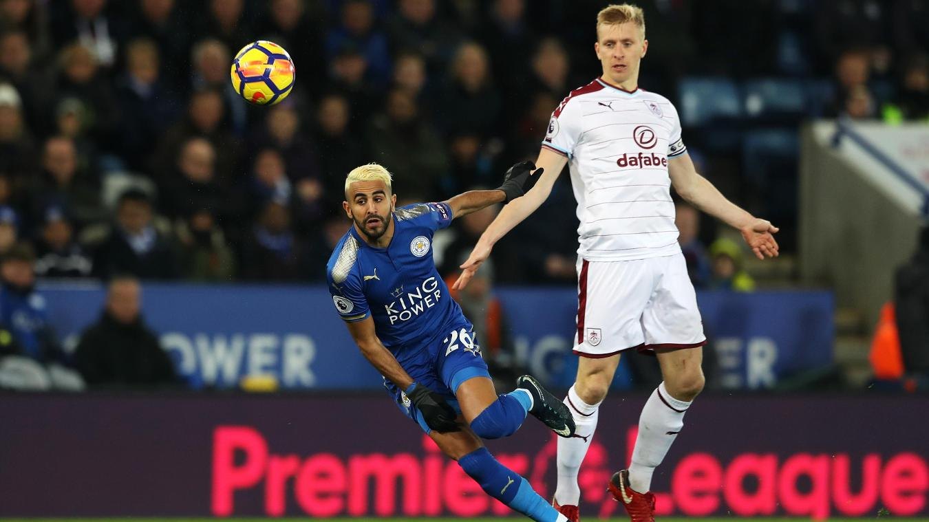 Burnley v Leicester City, 14 April
