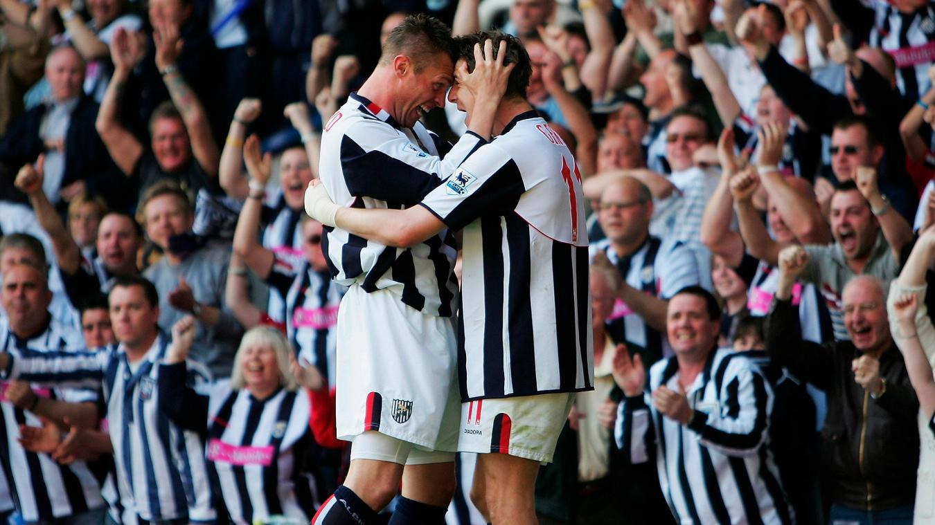 Geoff Horsfield, West Brom celebration in 2004/05