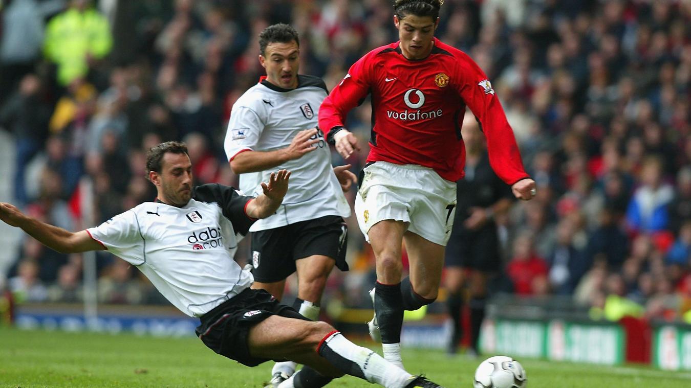 Cristiano Ronaldo, Manchester United in 2003/04