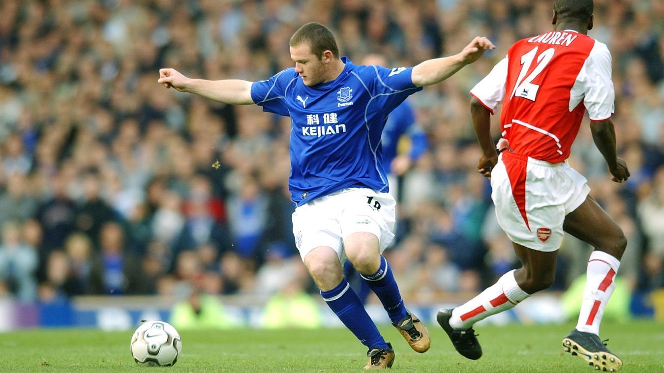Wayne Rooney, Everton in 2002/03