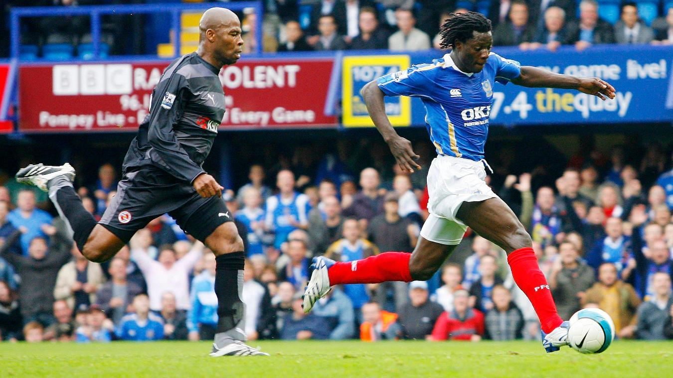 Benjani, Portsmouth in 2007/08