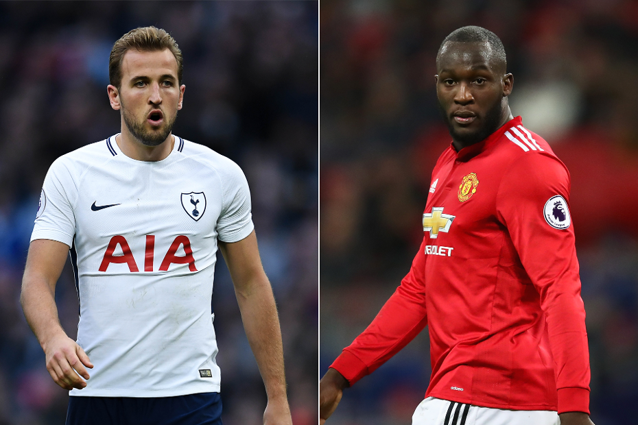 Harry Kane and Romelu Lukaku