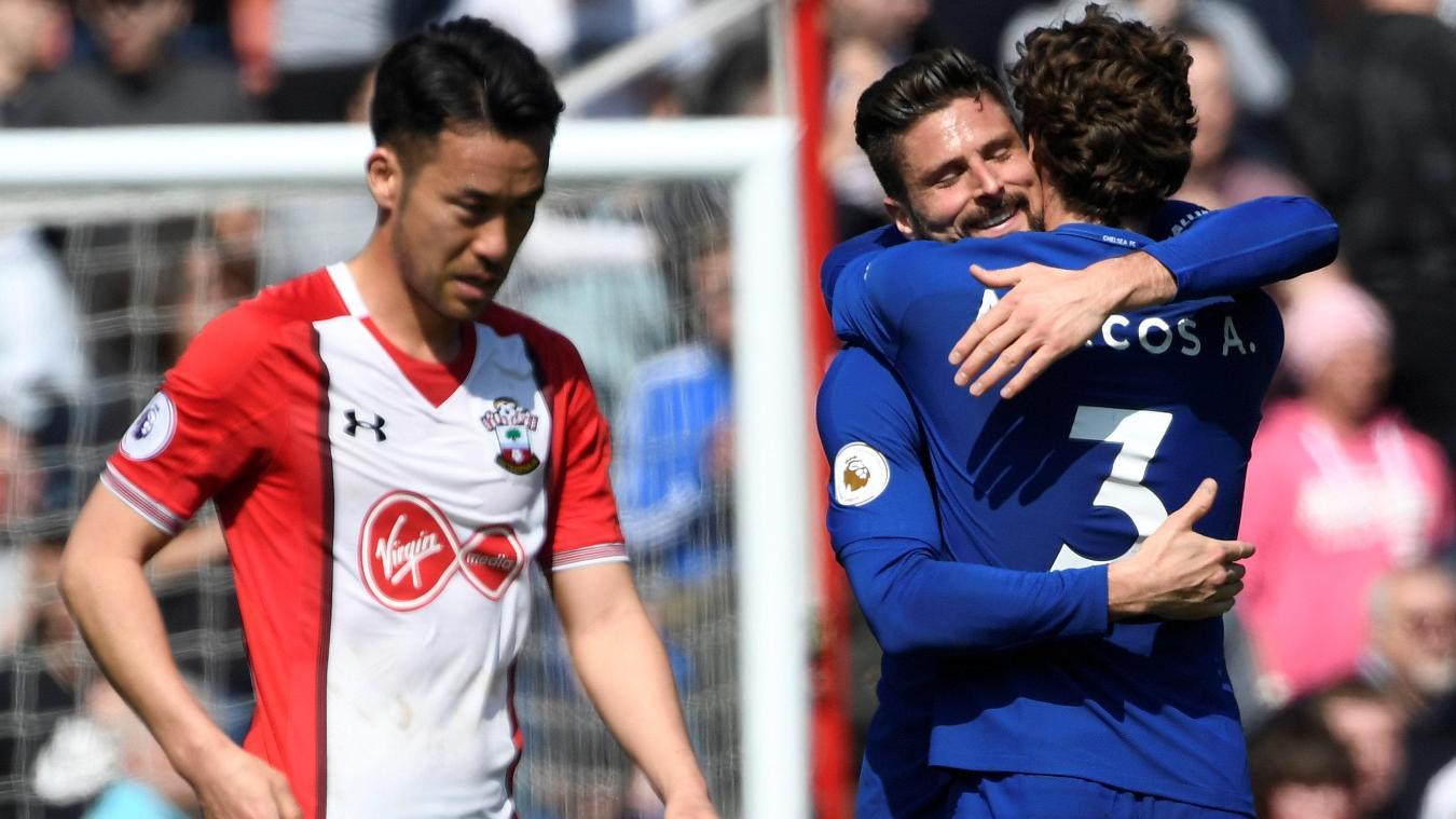 Southampton 2-3 Chelsea