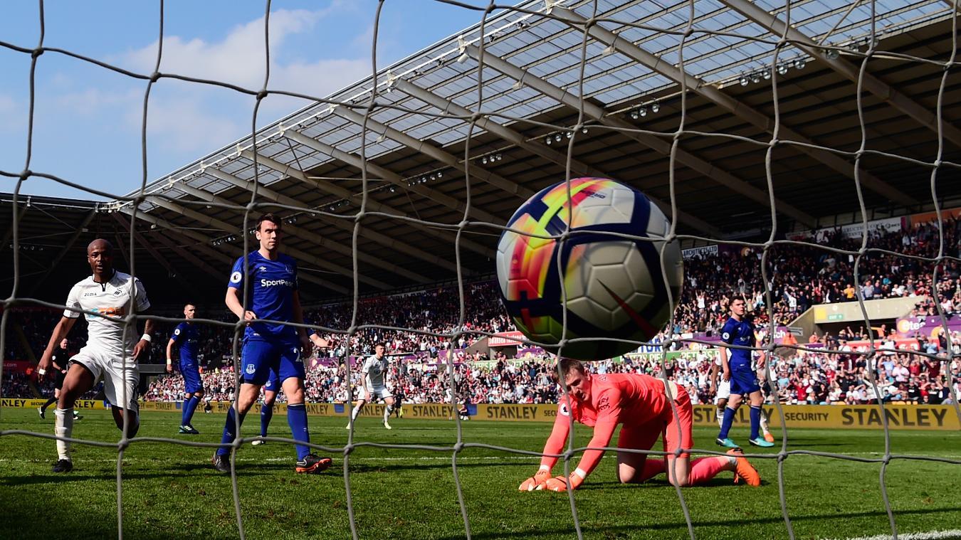 Swansea City 1-1 Everton
