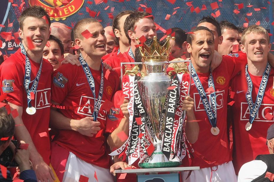 Man Utd 2008/09 champions