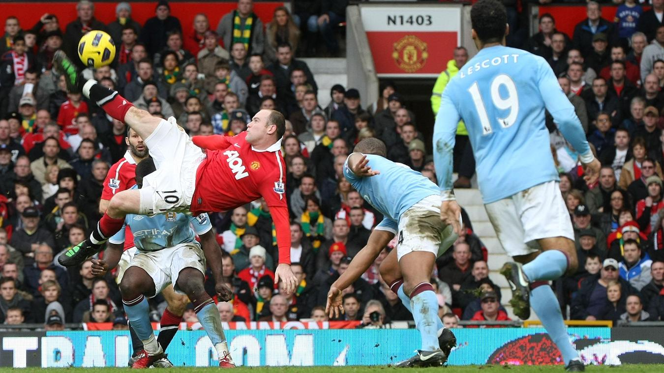 Wayne Rooney, Manchester United goal in 2010/11