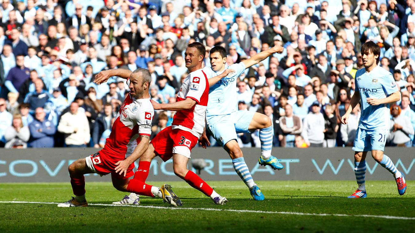 Sergio Aguero, Man City goal in 2011/12