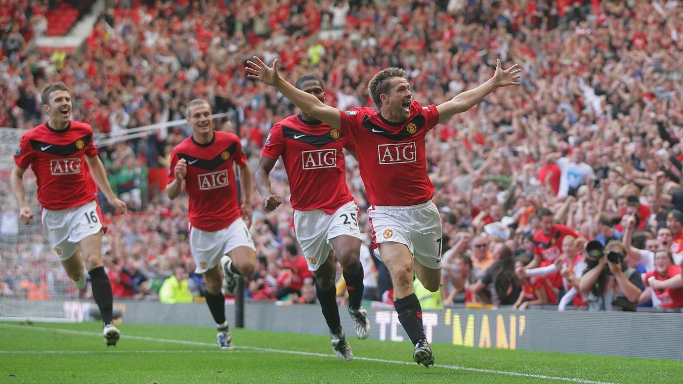 Michael Owen, Manchester United celebration in 2009/10