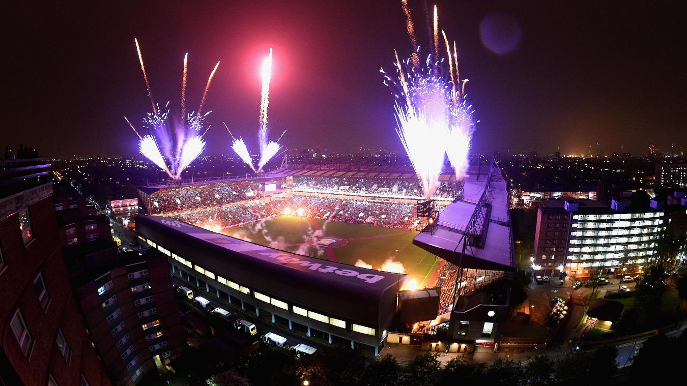 Boleyn Ground, West Ham farewell with fireworks in 2015/16
