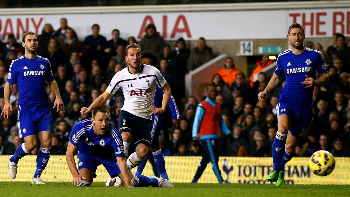 Harry Kane, Spurs goal in 2014/15