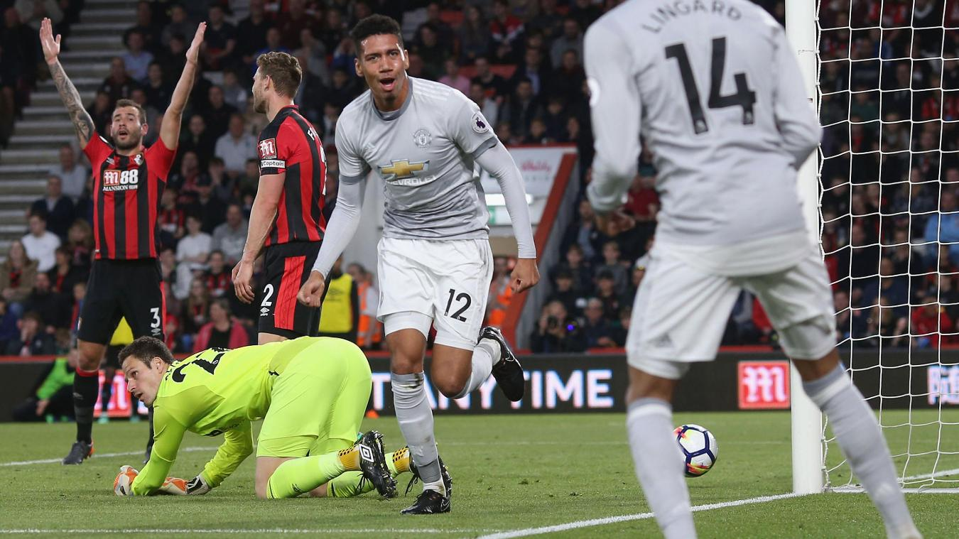 AFC Bournemouth 0-2 Manchester United