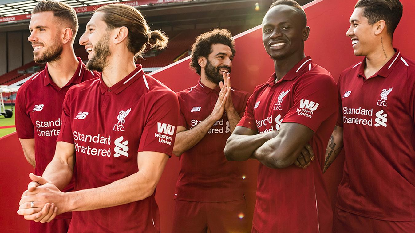 2018/19 Liverpool home kit