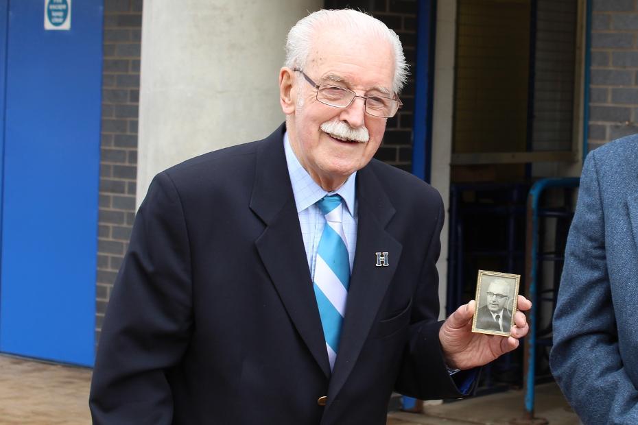 Duncan Haigh, Huddersfield Town turnstile supervisor