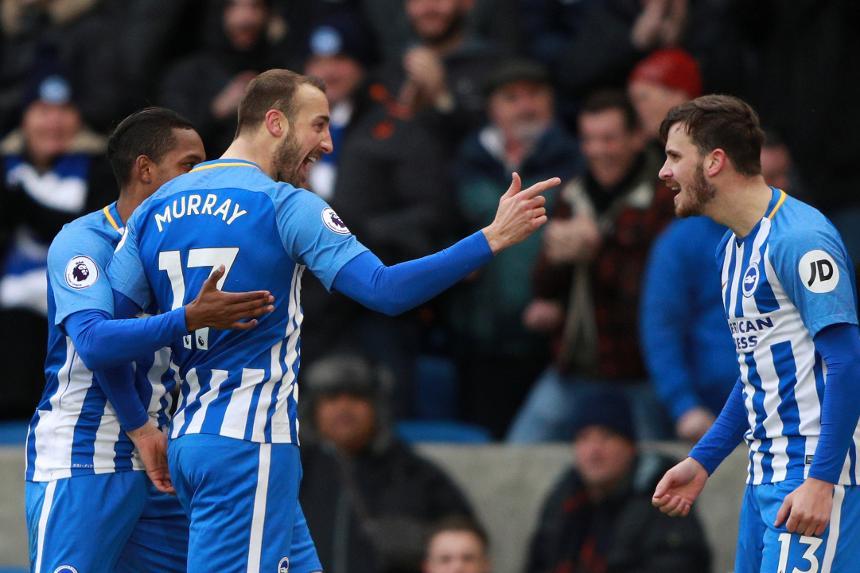 Image result for Bruno's assist for Glenn Murray for Brighton