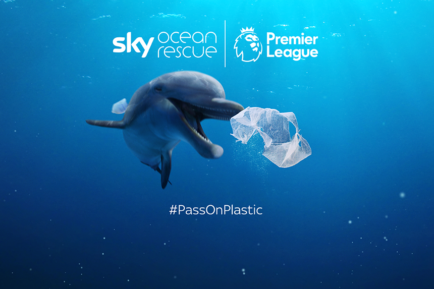 Premier League and Sky team up to save oceans 5473b3a08