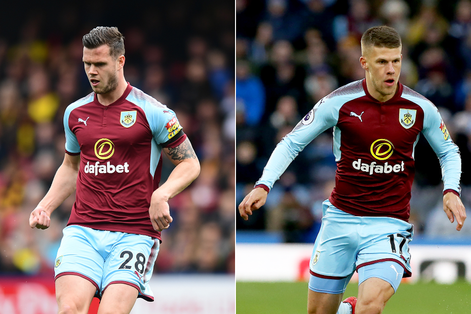 Kevin Long and Johann Berg Gudmundsson Burnley