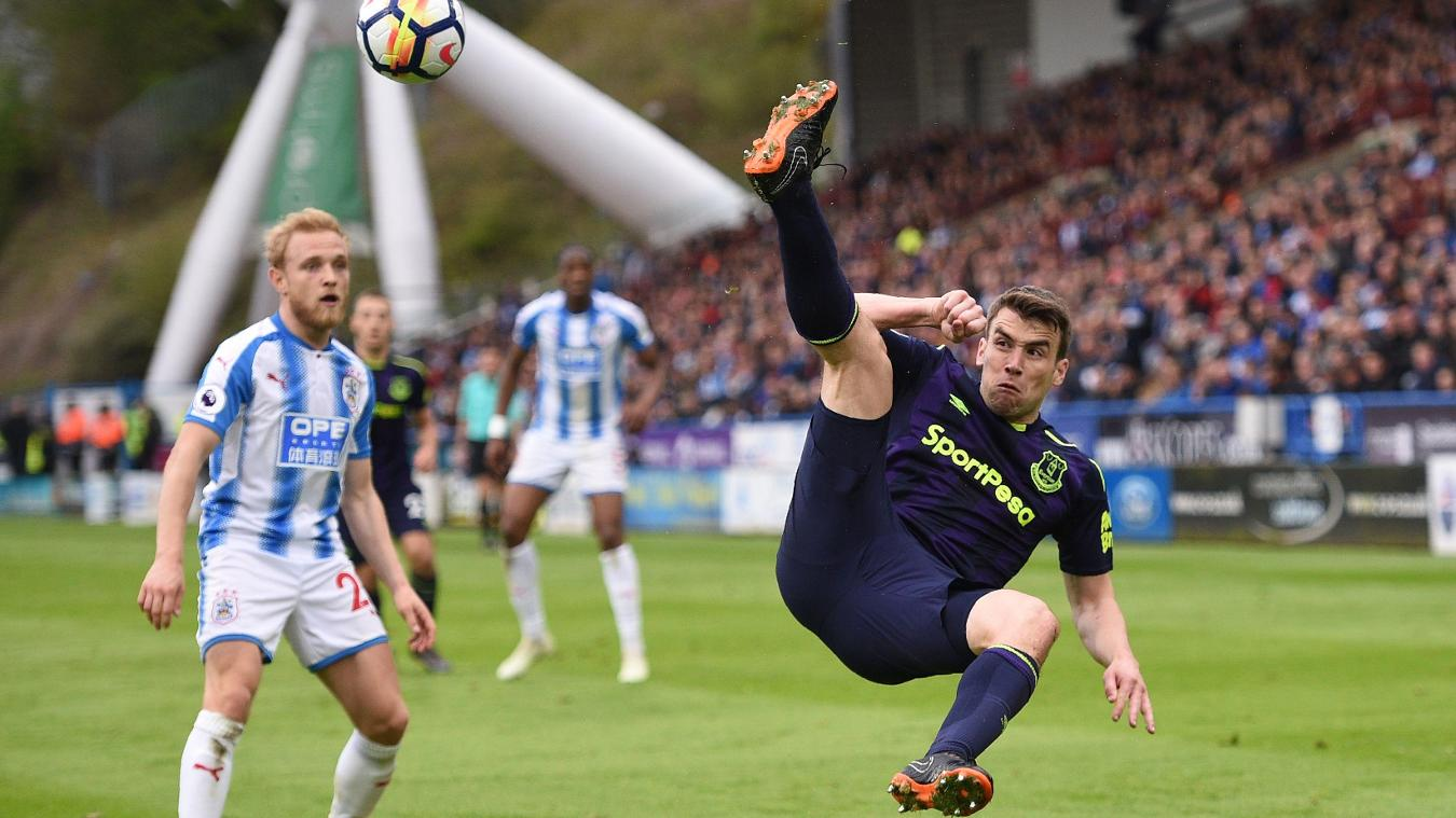Huddersfield Town 0-2 Everton