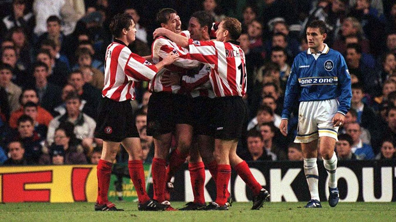 Everton v Southampton, 5 May