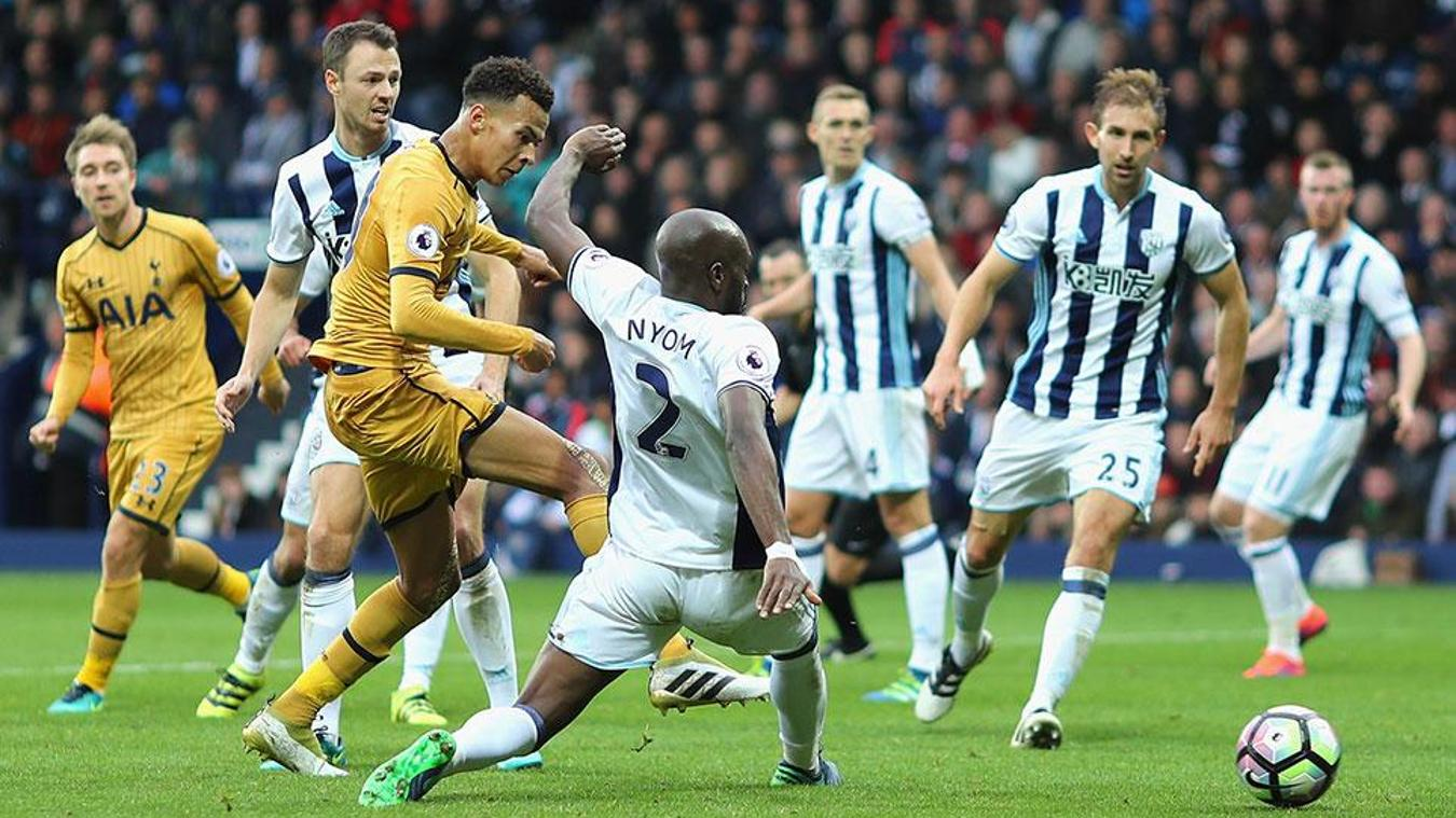 West Brom v Spurs, 5 May