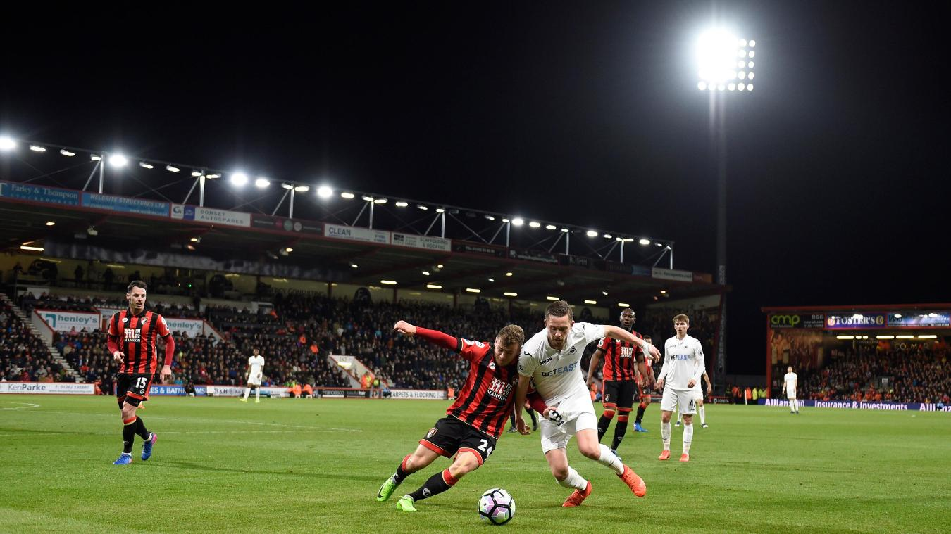 AFC Bournemouth v Swansea, 5 May