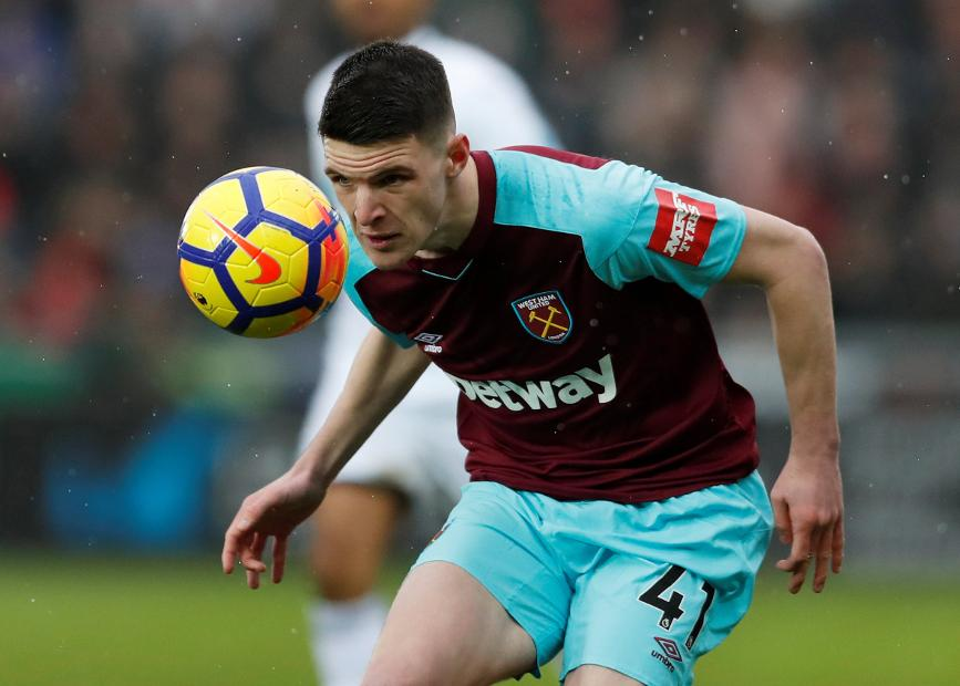 Declan Rice, West Ham