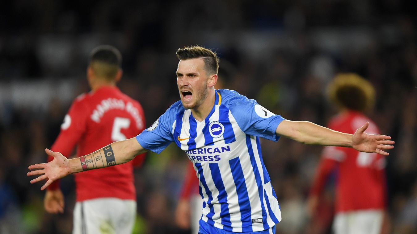 Brighton & Hove Albion 1-0 Manchester United