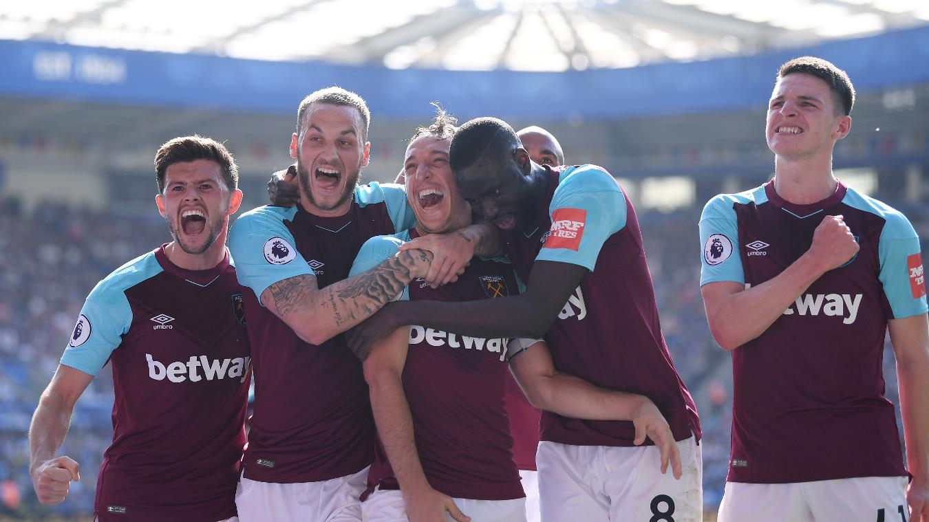 Leicester City 0-2 West Ham United