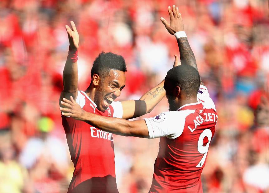 Arsenal v Burnley - Pierre-Emerick Aubameyang