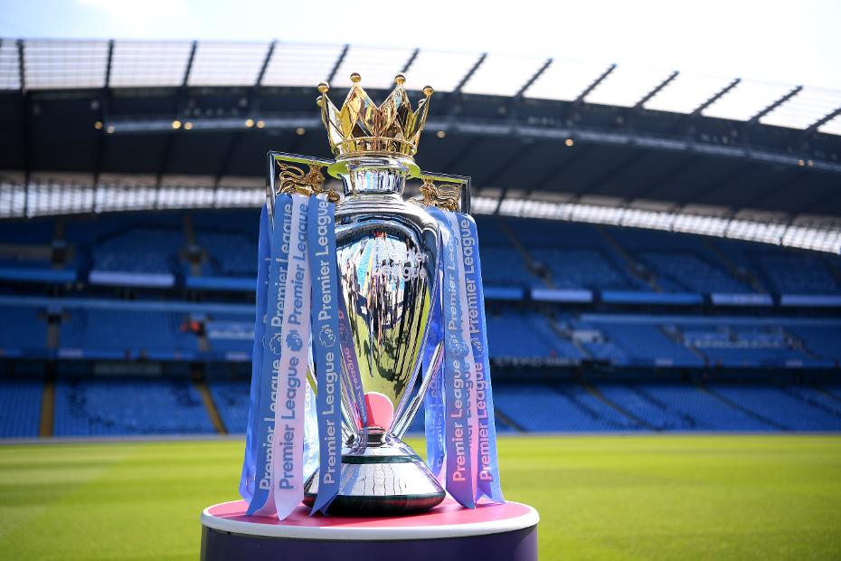 Image result for English Premier League trophy
