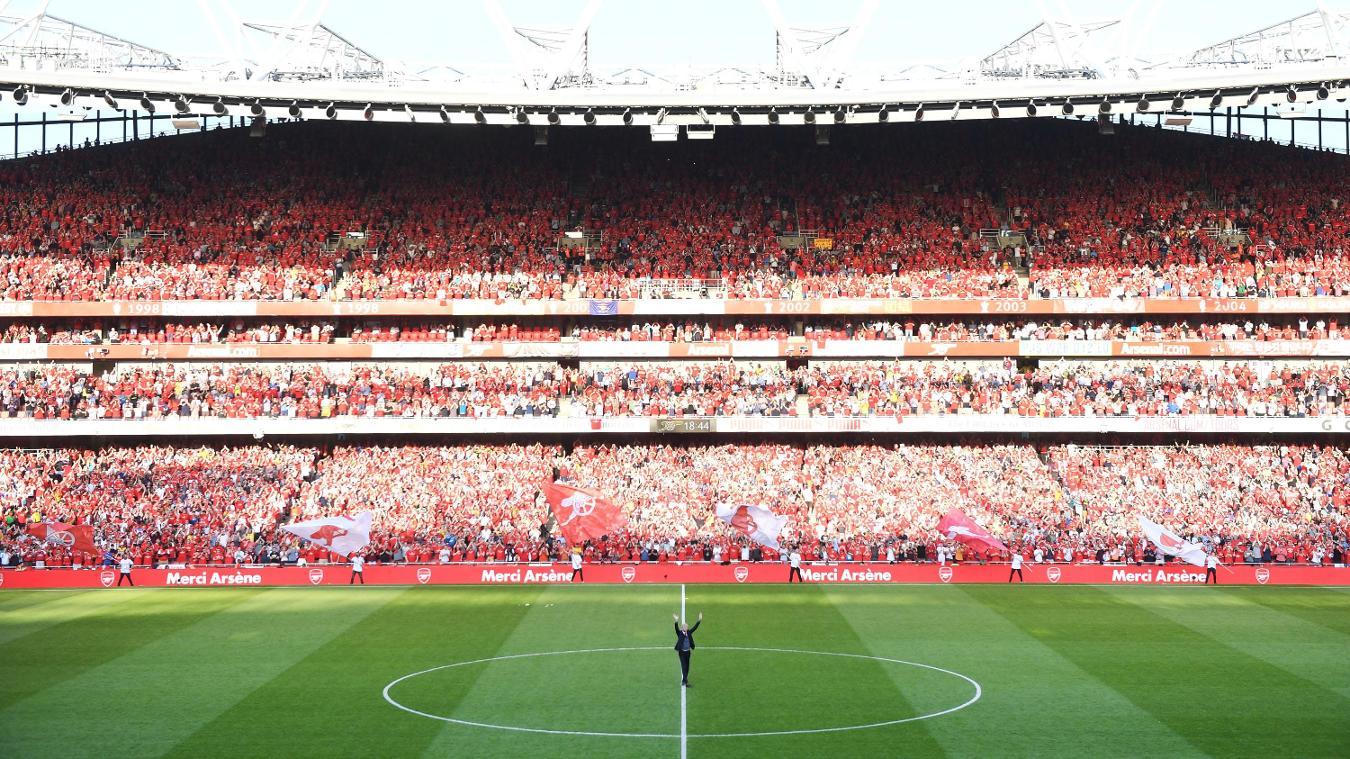 Arsene Wenger's Emirates Stadium farewell