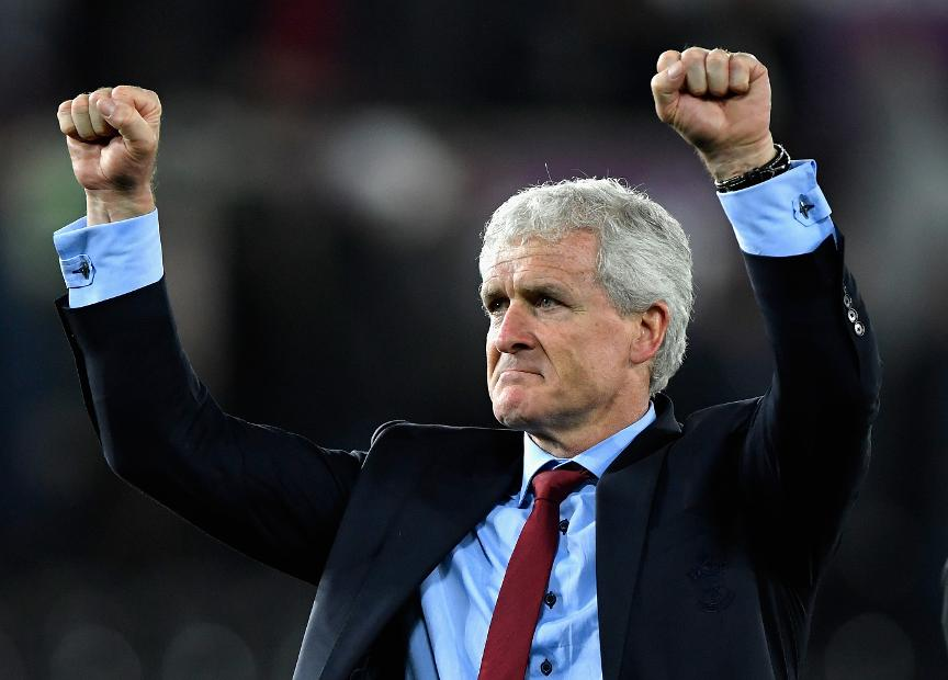 Swansea City v Southampton - Mark Hughes