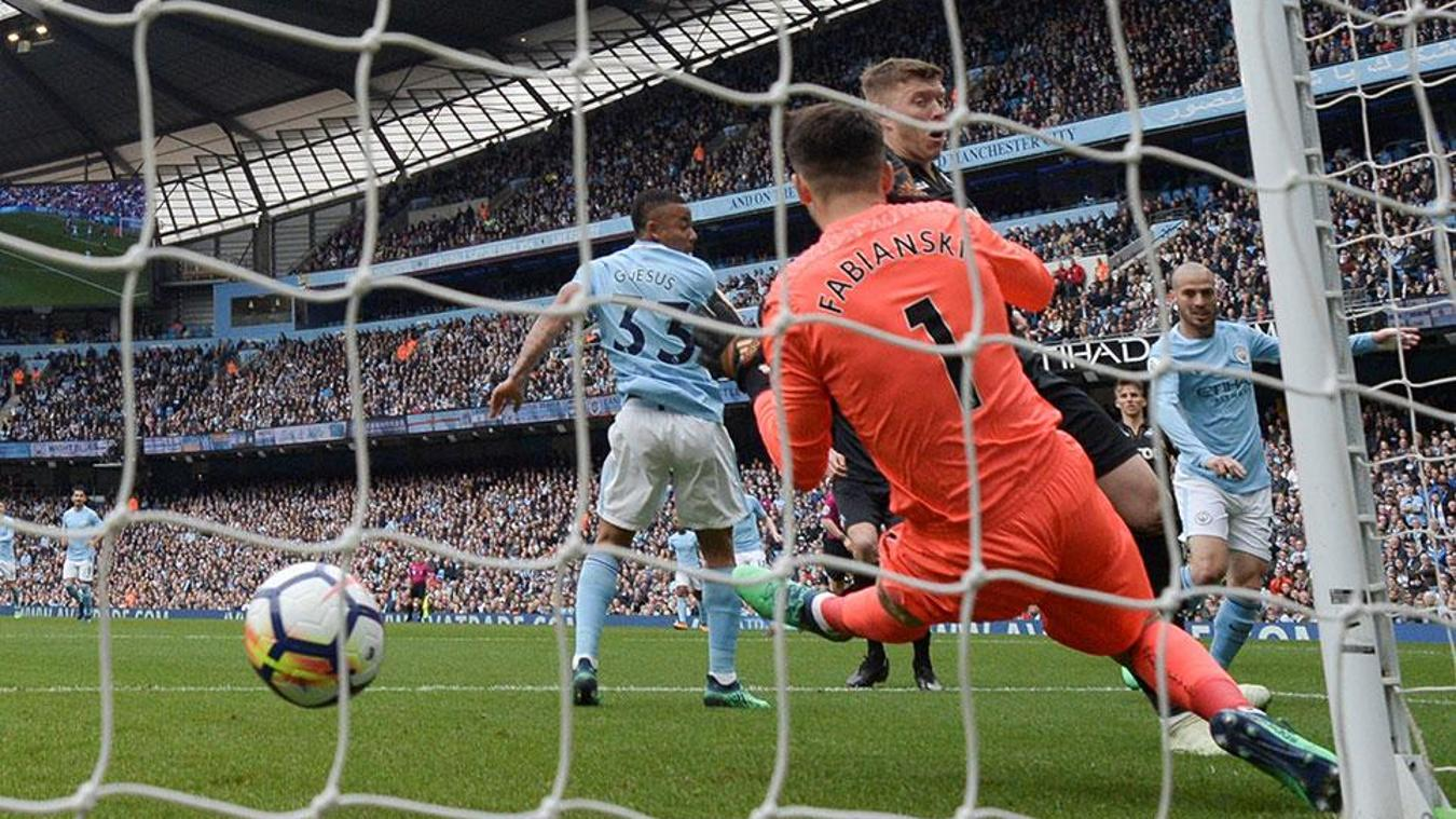 Manchester City v Brighton & Hove Albion, 9 May