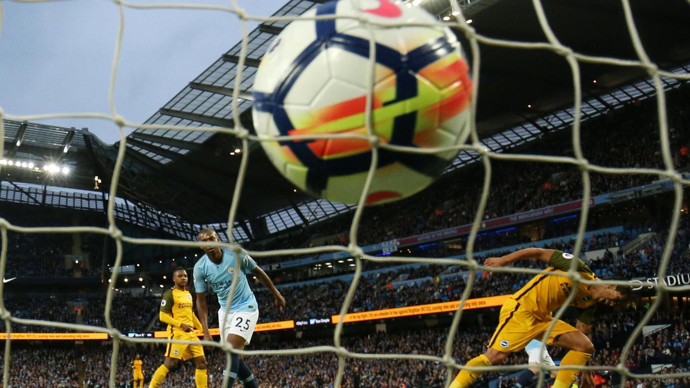 Manchester City 3-1 Brighton & Hove Albion