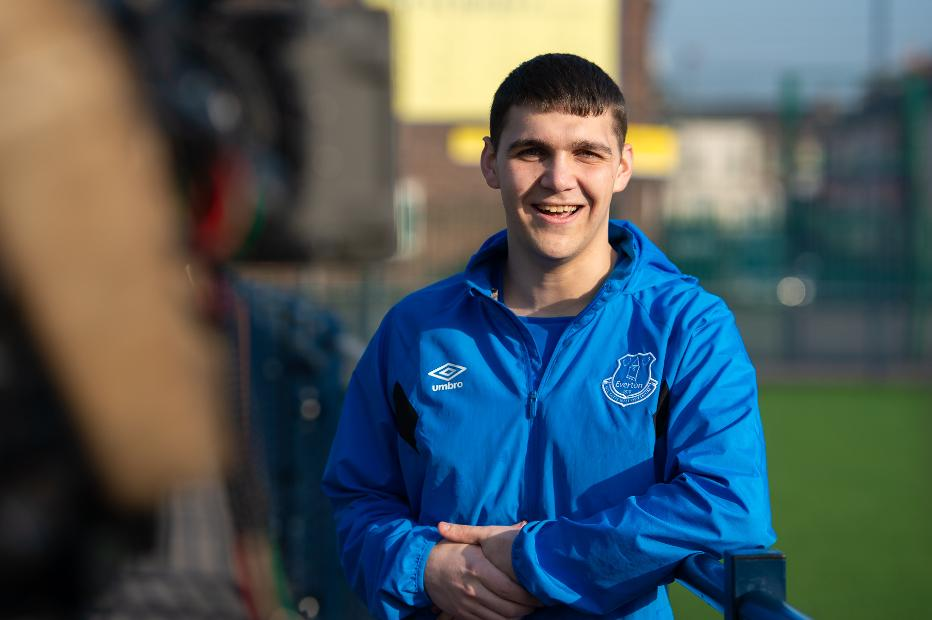 Jordan Buckley, Everton in the Community