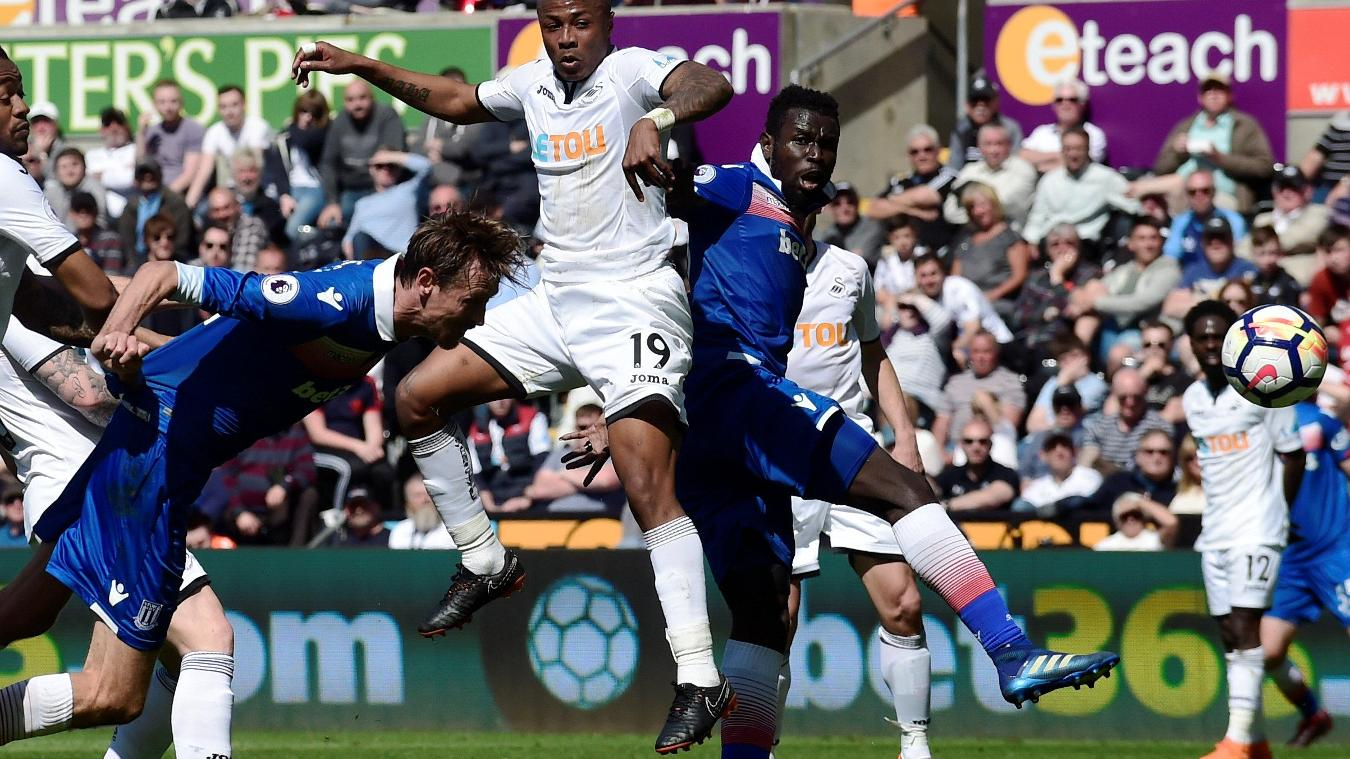 Swansea City 1-2 Stoke City