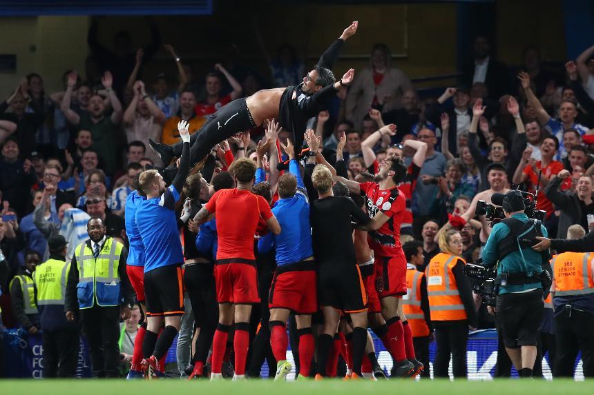 Chelsea 1-1 Huddersfield Town