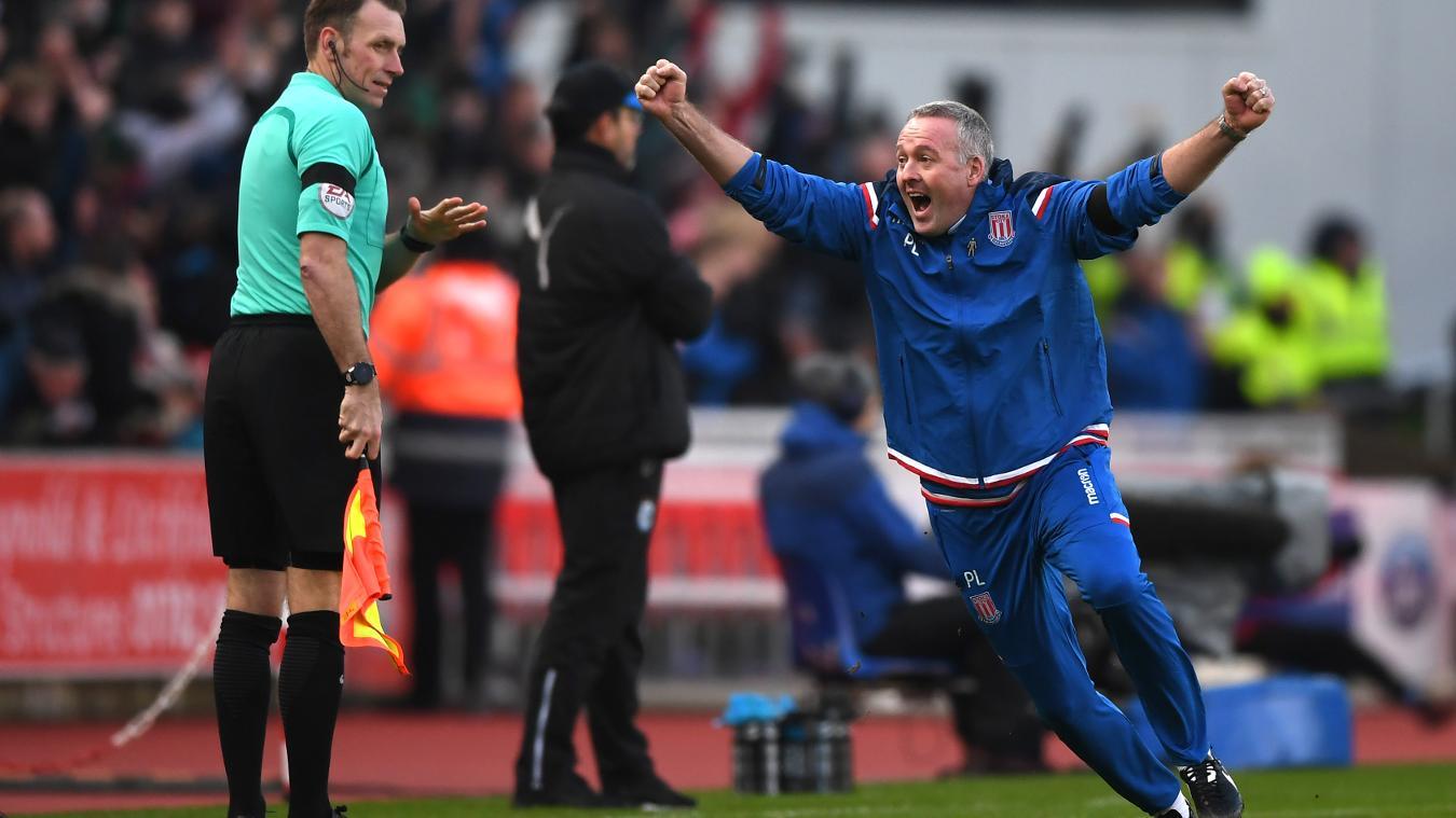 Stoke City 2-0 Huddersfield Town