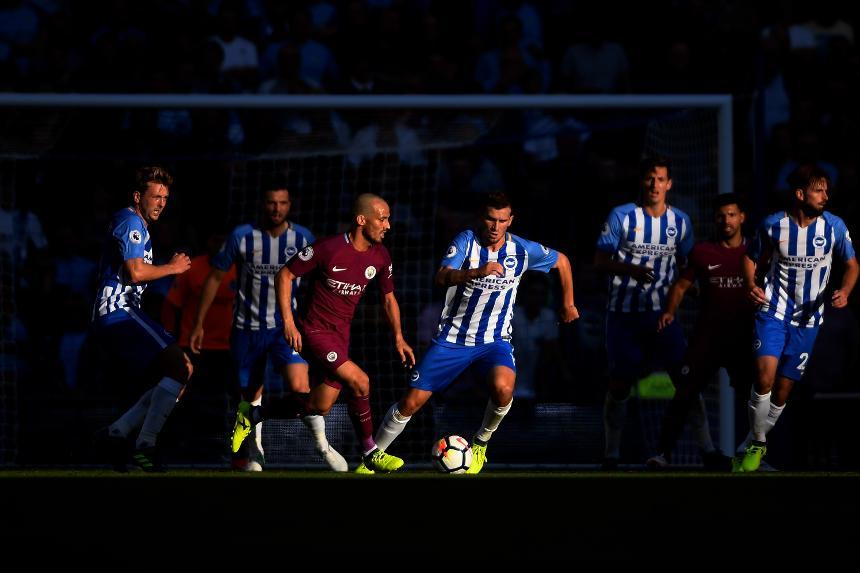Brighton & Hove Albion 0-2 Manchester City