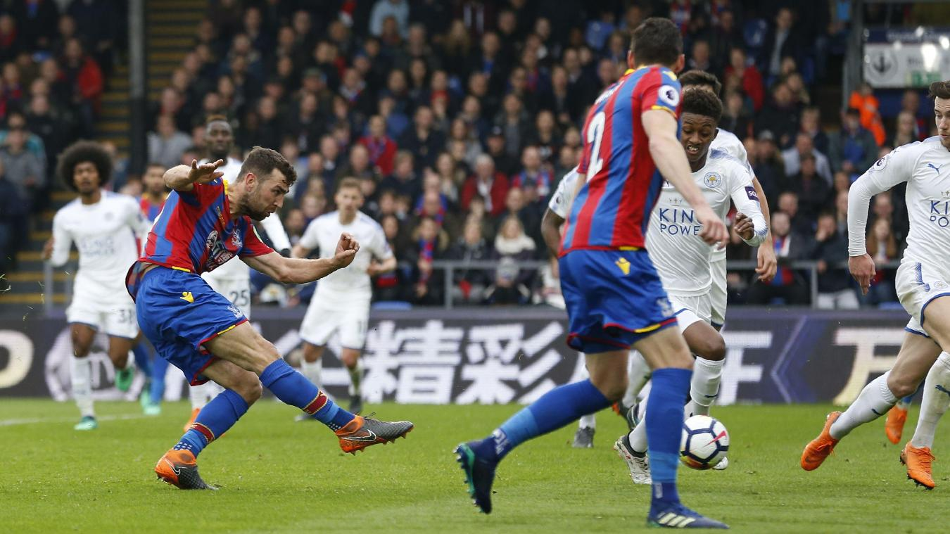 James McArthur fires in Crystal Palace's second goal